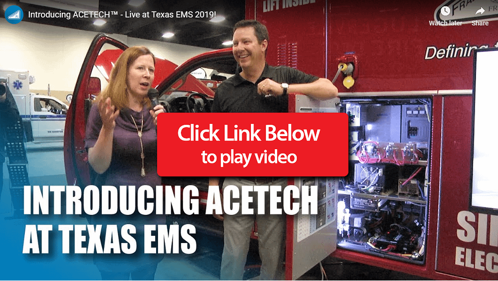 Frazer interview at Texas EMS