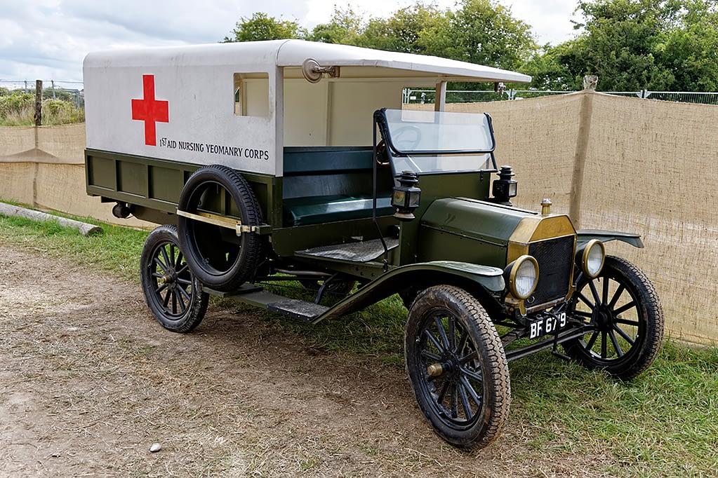 Old Style Ambulance Cart