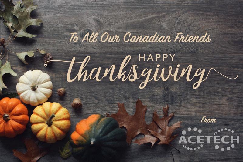 Happy Thanksgiving Canada
