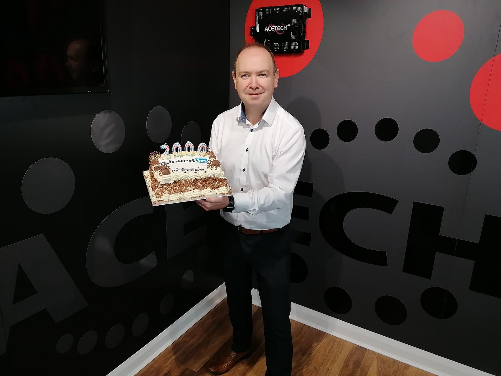 ACETECH Celebrates LinkedIn Milestone!