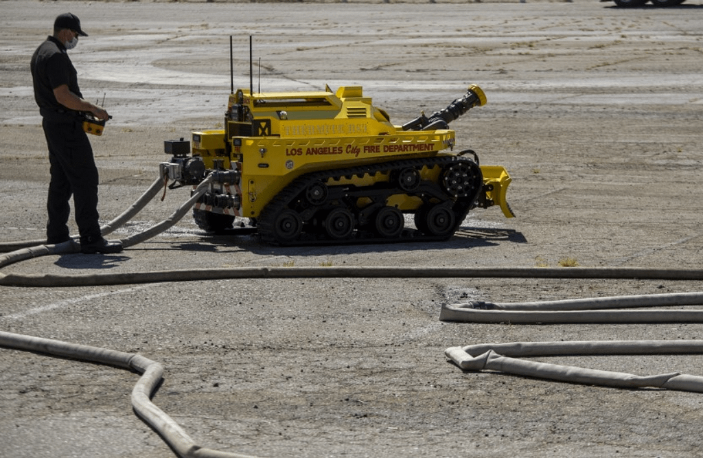 L.A.'s New Firefighting Robot is the First of its Kind in the U.S. — And Can Go Where Humans Can't