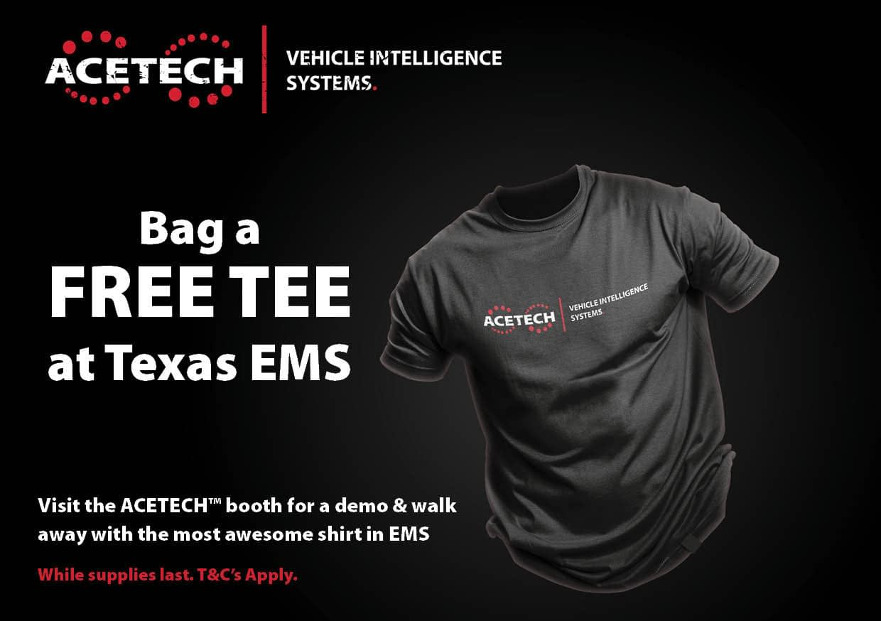 FREE Tee @Texas EMS Conference