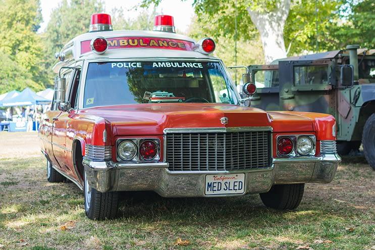 cadillac ambulance 1971