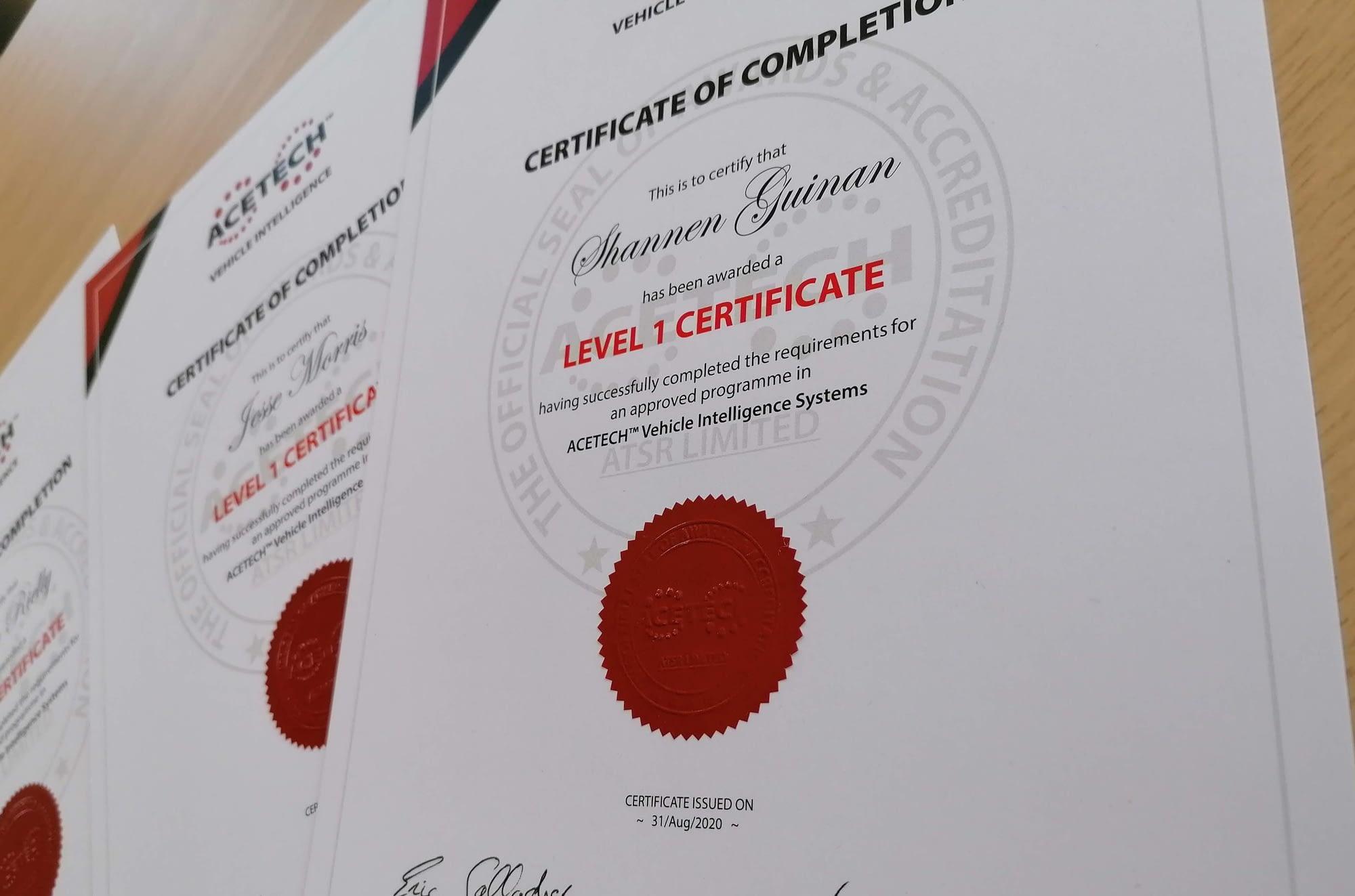 ACETECH Launch New Global Training Programme