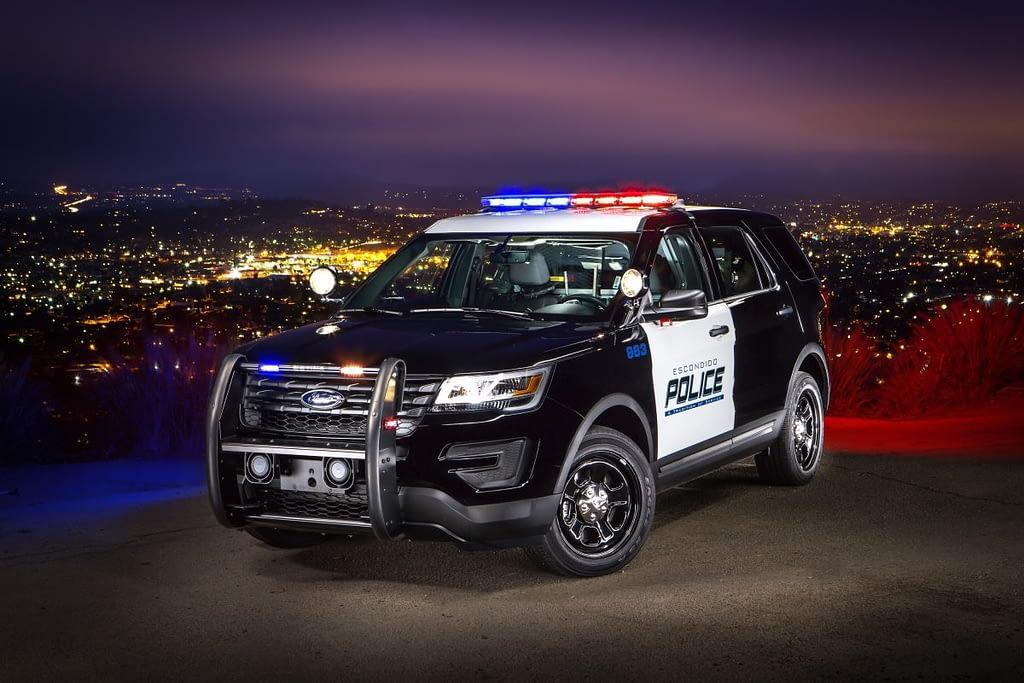 SoundOff Signal Lights on Police Car